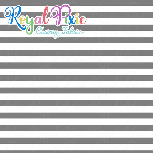 Permanent Preorder - Stripes with White - Grey - RP Color