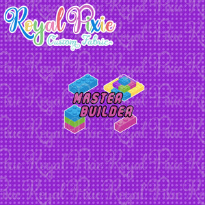 "Gaming - Panel Blocks ""Master Builder"" Pastel"
