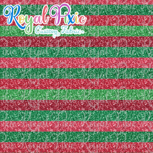 "Permanent Preorder - Glitter Stripes - Thin 1/2"" Stripe Holiday"