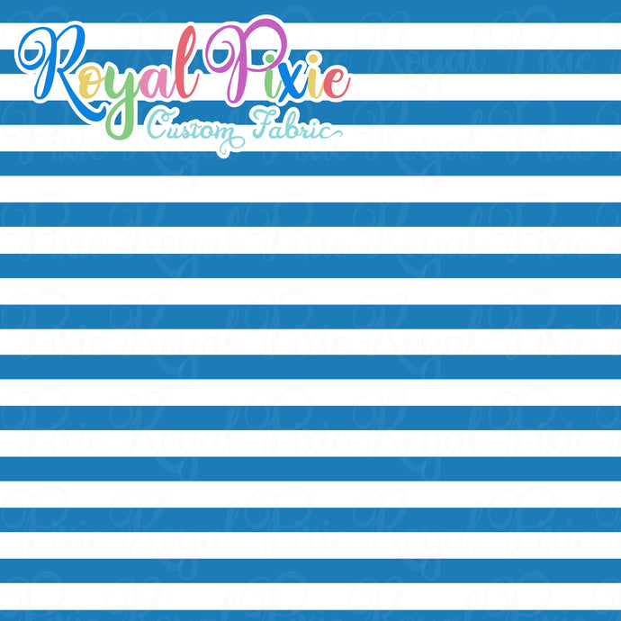 Permanent Preorder - Stripes with White - Ocean - RP Color