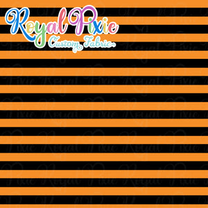 Permanent Preorder - Stripes with Black - Orange - RP Color