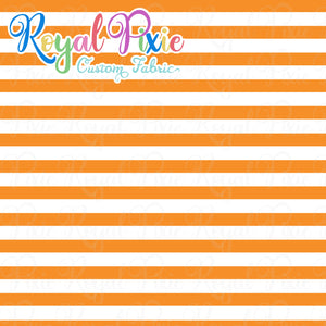 Permanent Preorder - Stripes with White - Orange - RP Color