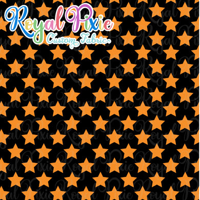 Permanent Preorder - Stars with Black - Orange - RP Color
