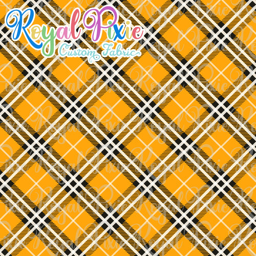 Permanent Preorder - Coords - Plaid - Orange