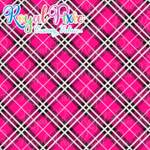 Permanent Preorder - Coords - Plaid - Pink