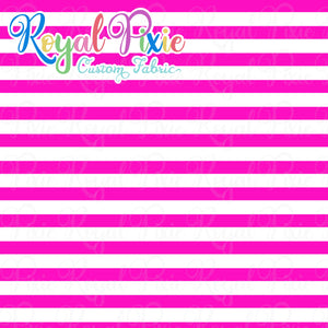 Permanent Preorder - Stripes with White - Pink - RP Color