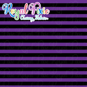 Permanent Preorder - Stripes with Black - Purple - RP Color