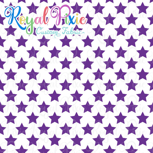Permanent Preorder - Stars with White - Purple - RP Color