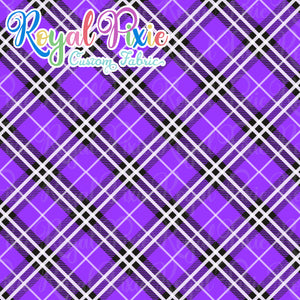Permanent Preorder - Coords - Plaid - Purple