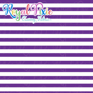 Permanent Preorder - Stripes with White - Purple - RP Color
