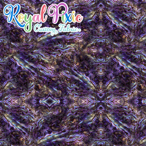 Retail Shockwaves Purple Cotton Woven