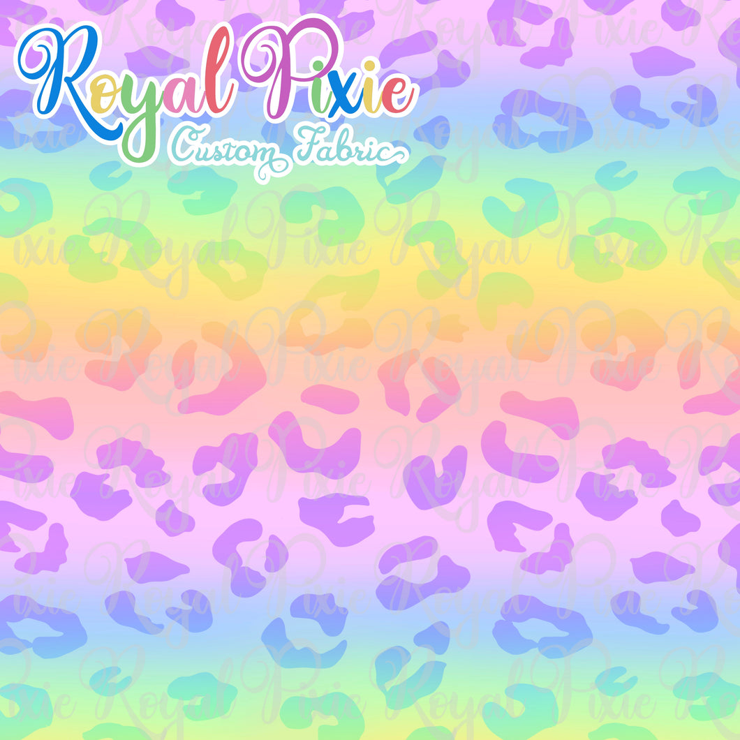 Permanent Preorder - Coords - Animal Prints - Rainbow Pastel