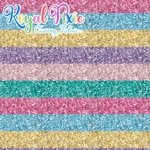 "Permanent Preorder - Glitters - Thick 1"" Stripe Pastel"