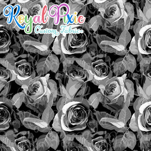 BF Flash - Rainbow Roses - B&W