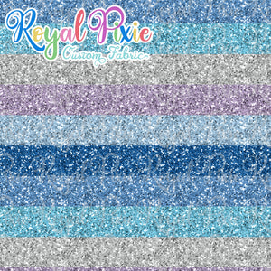 "Permanent Preorder - Glitters - Thick 1"" Stripe Winter"