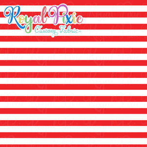 Permanent Preorder - Stripes with White - Red - RP Color