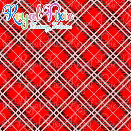Permanent Preorder - Coords - Plaid - Red