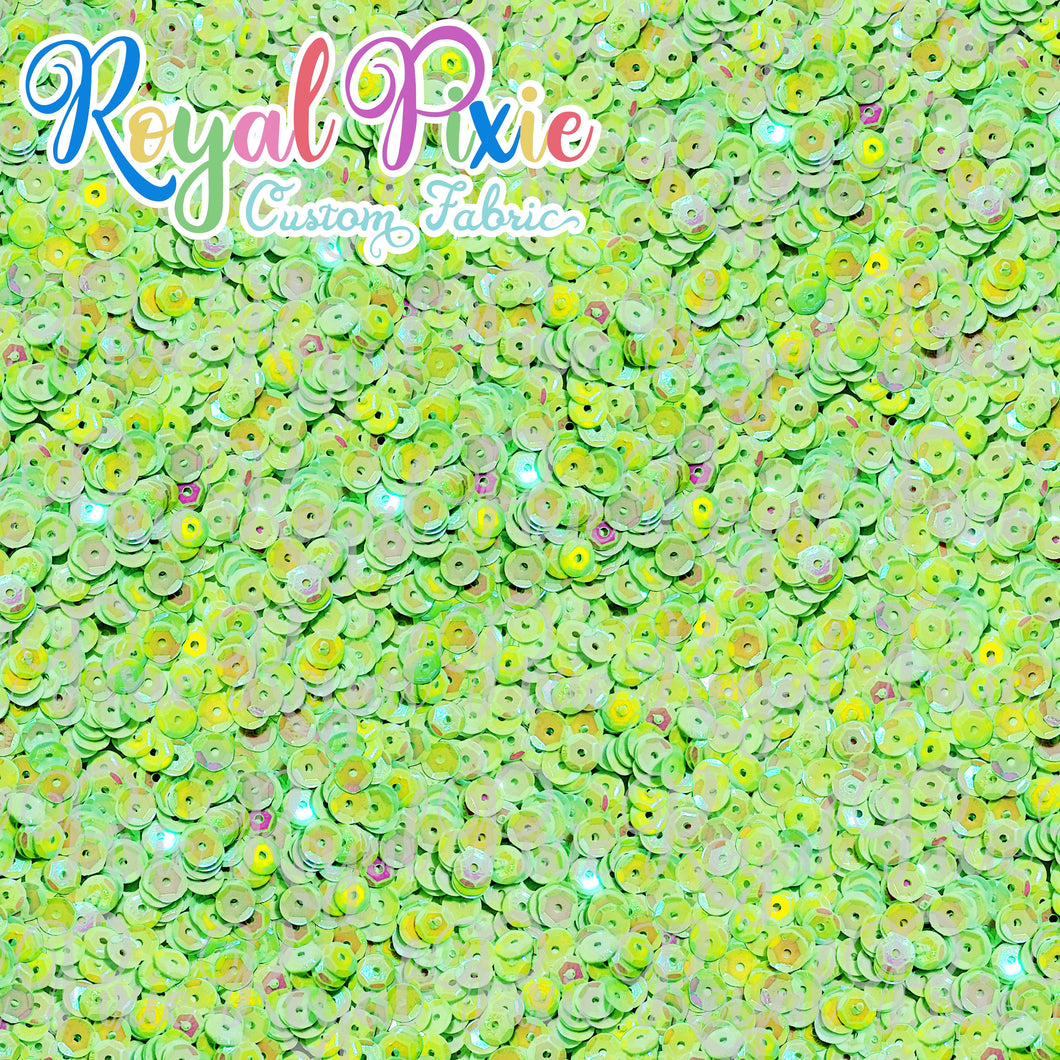 Permanent Preorder - Coords - Sequins - Royal Lime