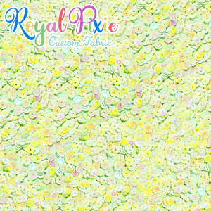 Permanent Preorder - Coords - Sequins - Royal Pastel Green