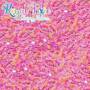 Permanent Preorder - Coords - Sequins - Royal Bright Pink