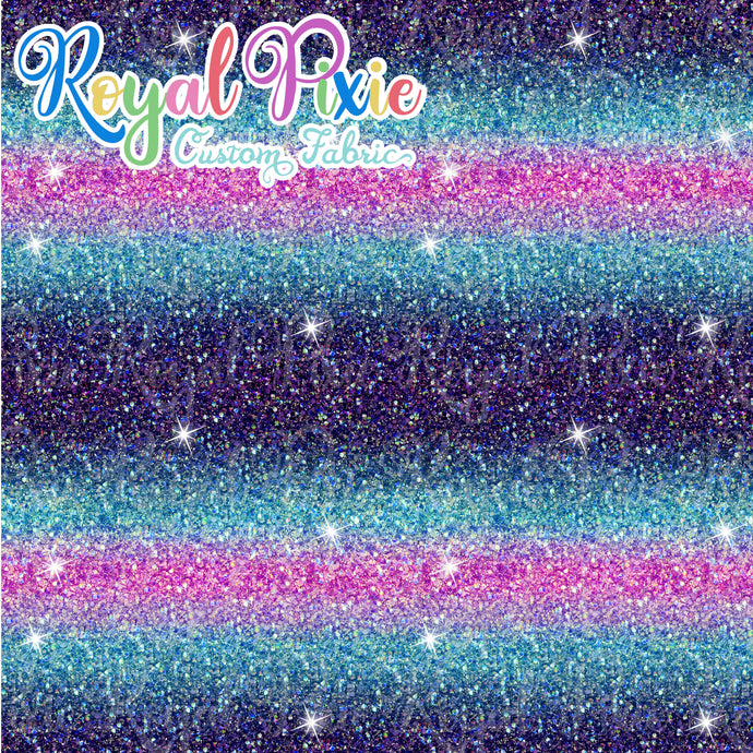 Permanent Preorder - Starry Glitters - Ombre Blues and Pink