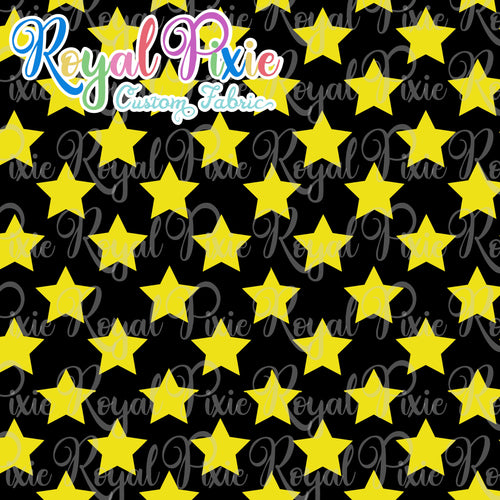 Permanent Preorder - Stars Multicolor - Black and Yellow