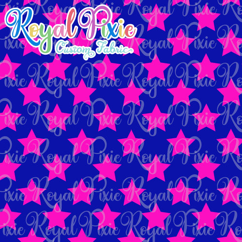Permanent Preorder - Stars Multicolor - Blue and Pink