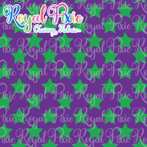 Permanent Preorder - Stars Multicolor - Green and Purple