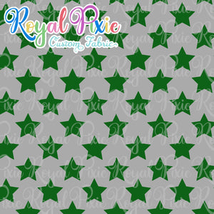 Permanent Preorder - Stars Multicolor - Green and Silver