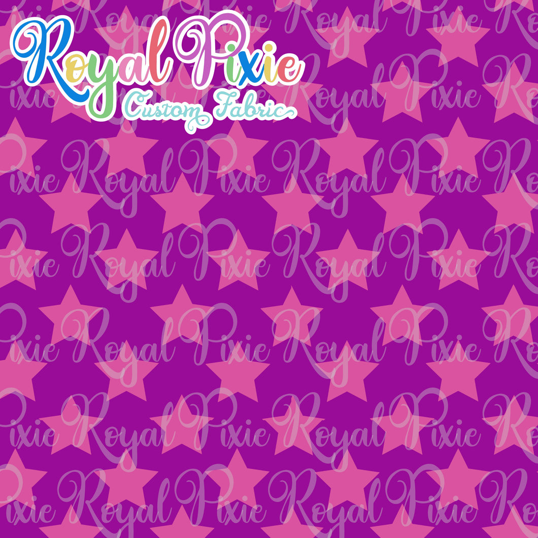 Permanent Preorder - Stars Multicolor - Pink and Purple