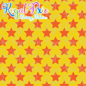 Permanent Preorder - Stars Multicolor - Yellow and Orange