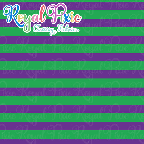 Permanent Preorder - Stripes Multicolor - Green/Purple
