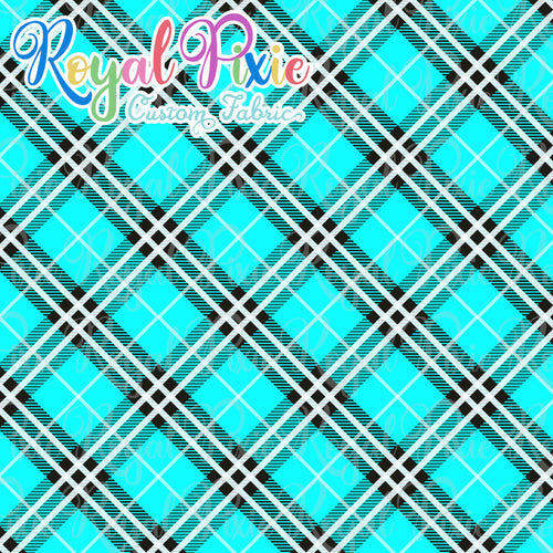 Permanent Preorder - Coords - Plaid - Teal