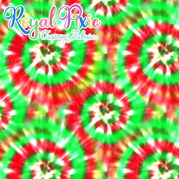 Permanent Preorder - Coords - Tie Dye Christmas