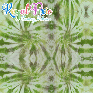 Permanent Preorder - Coords - Tie Dye Lines 3 Grass