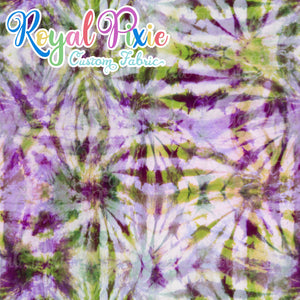 Permanent Preorder - Coords - Tie Dye Lines 5 Lilac