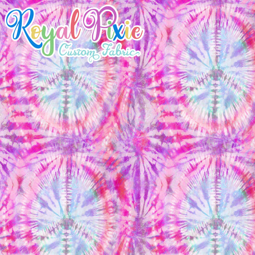 Permanent Preorder - Coords - Tie Dye Peace 2 Pinks
