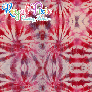 Permanent Preorder - Coords - Tie Dye Lines 8 Red