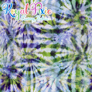 Permanent Preorder - Coords - Tie Dye Lines 4 Seaside