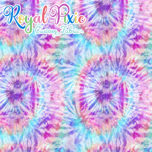 Permanent Preorder - Coords - Tie Dye Swirls 3 Pastel Purple