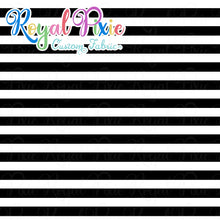 Load image into Gallery viewer, Permanent Preorder - Stripes with Black - White - RP Color