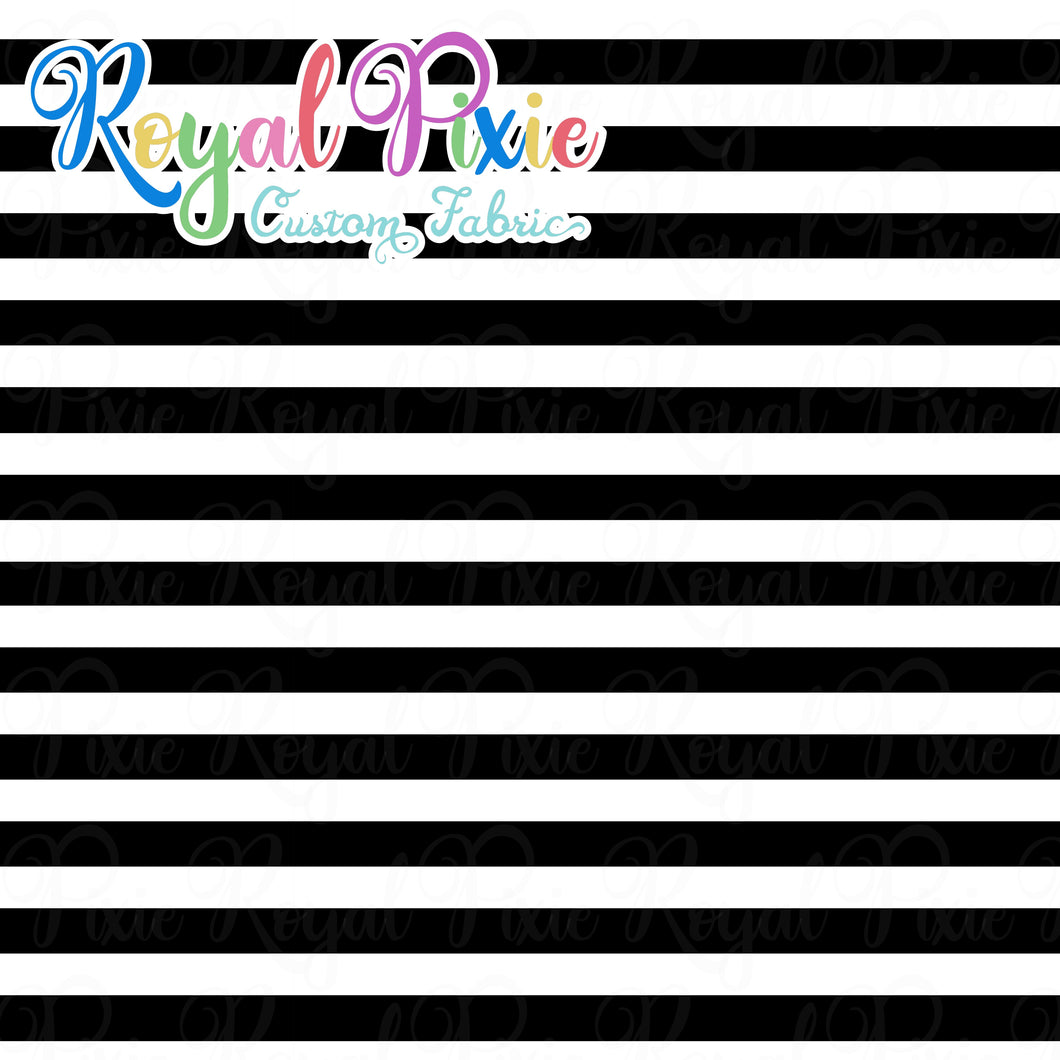 Permanent Preorder - Stripes with Black - White - RP Color
