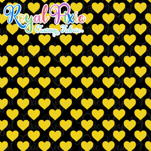Permanent Preorder - Hearts with Black - Yellow - RP Color