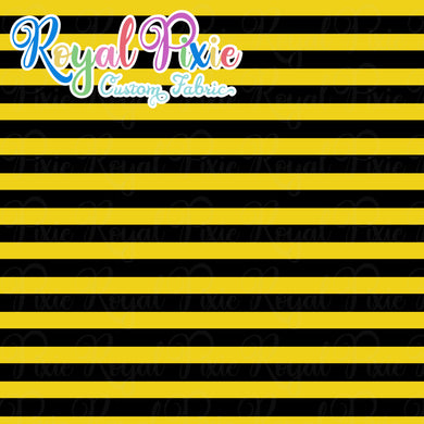 Permanent Preorder - Stripes with Black - Yellow - RP Color