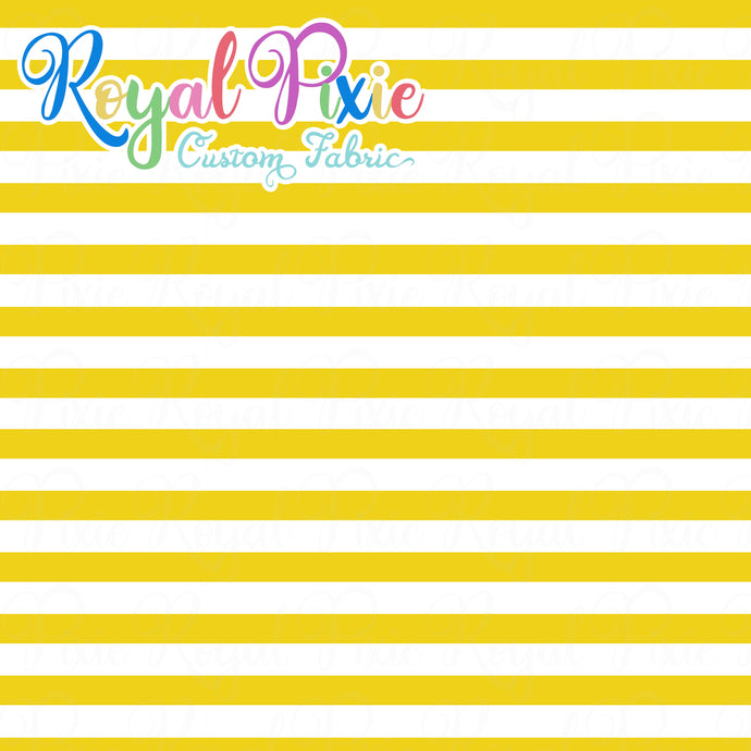 Permanent Preorder - Stripes with White - Yellow - RP Color