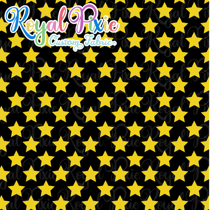 Permanent Preorder - Stars with Black - Yellow - RP Color