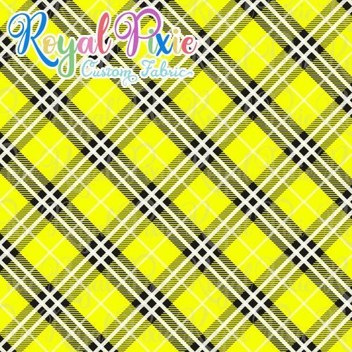 Permanent Preorder - Coords - Plaid - Yellow