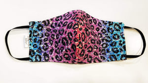 Permanent Preorder - Coords - Animal Prints - Glitter Leopard Rainbow