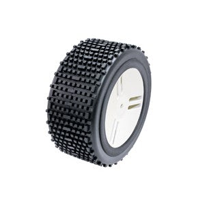 GRP HO Plus Mounted Tyres (M) 155mm