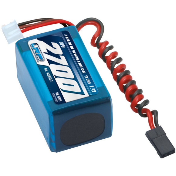 Li-Po 7.4v 2700mah Hump Receiver Pack